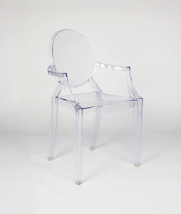 Silla Louis Ghost Transparente